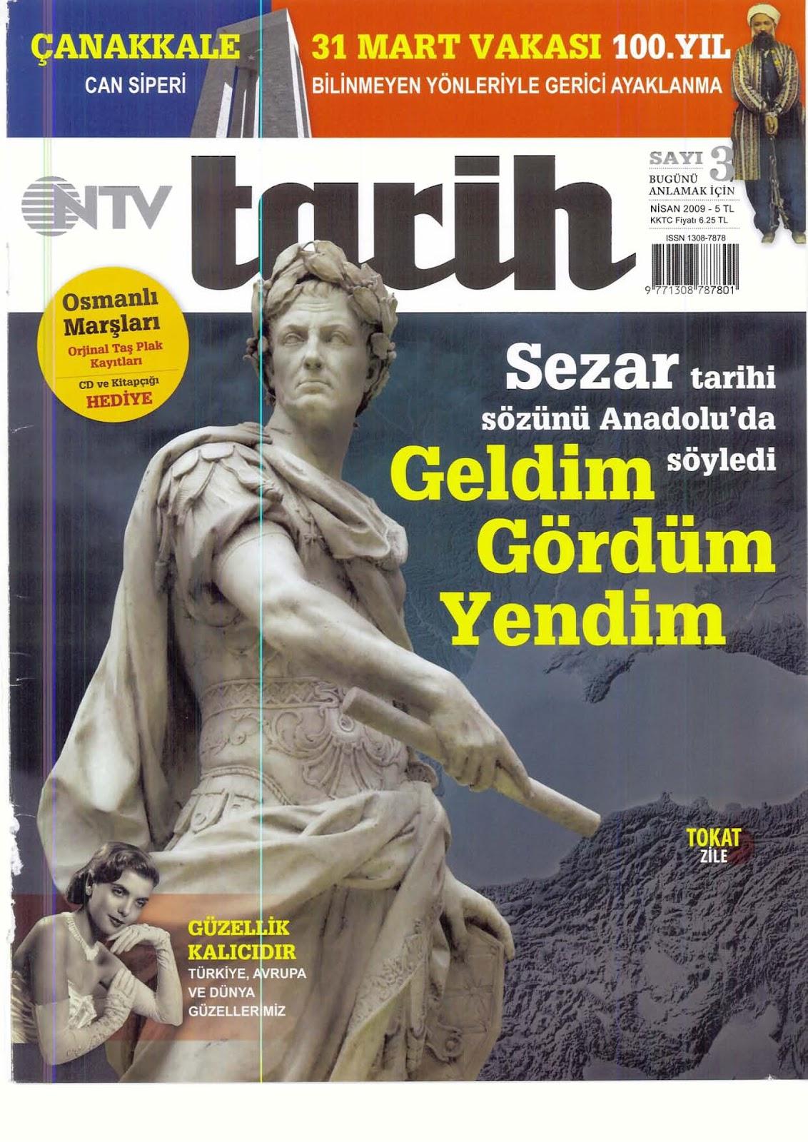 "Analyzing A Turkish History Magazine: The Making of ""NTV Tarih"""