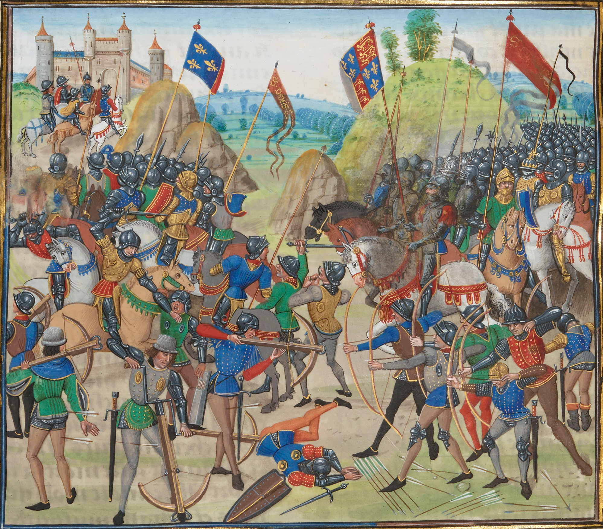 There was a time when England and France were deeply at war: Hundred Years War (1337-1453)